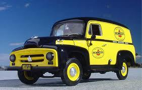 pennzoil truck